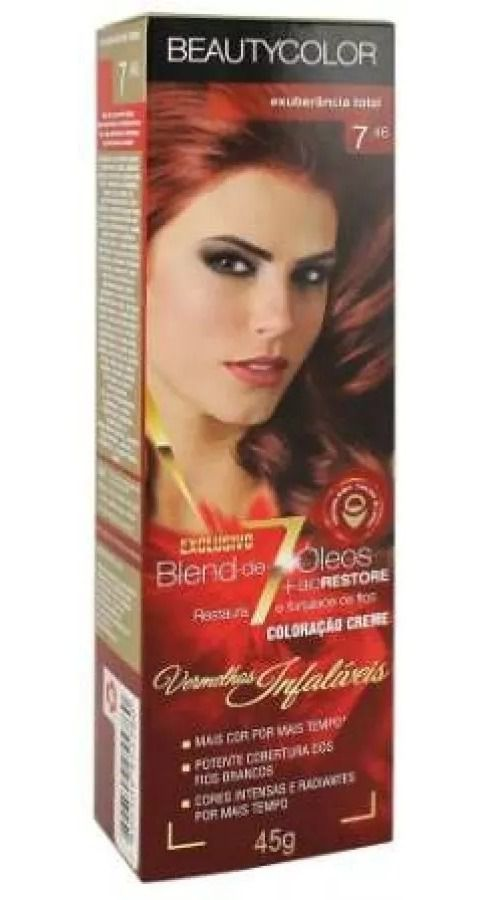 Beauty Color 7.46 Exuberância Total 45g