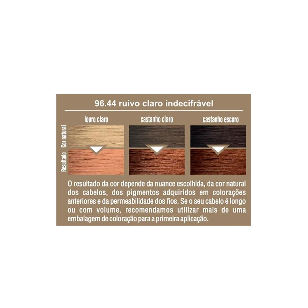 Beauty Color Coloração 96.44 - Ruivo Claro Indecifrável 45g