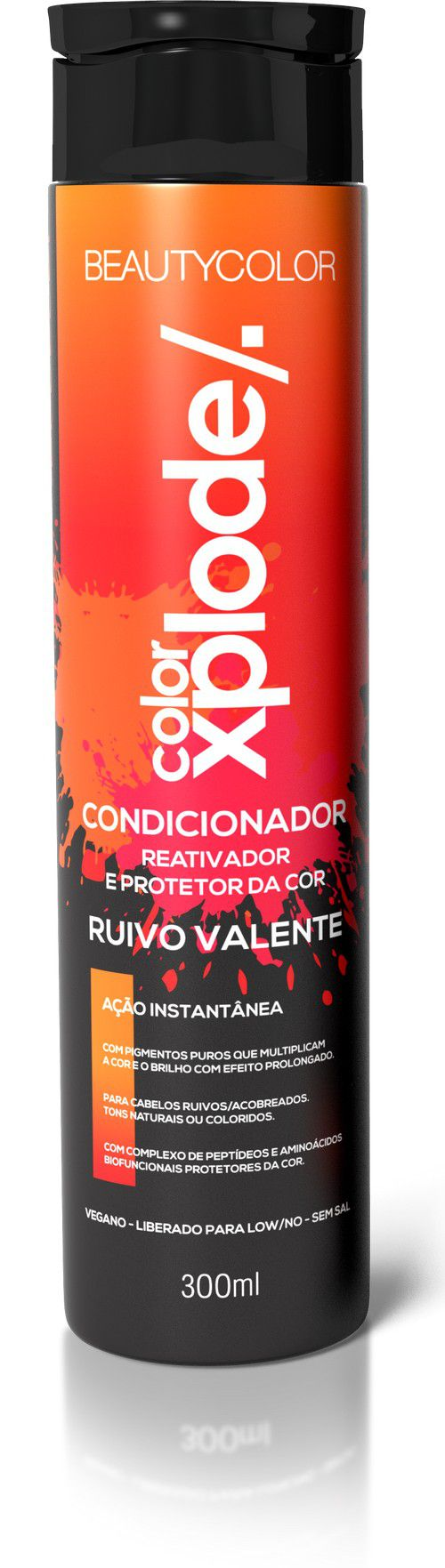 Beauty Color Condicionador Ruivo Valente Reativador e Protetor da Cor - 300ml
