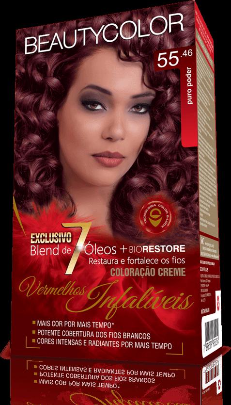 Beauty Color Kit Coloração 55.46 - Puro Poder