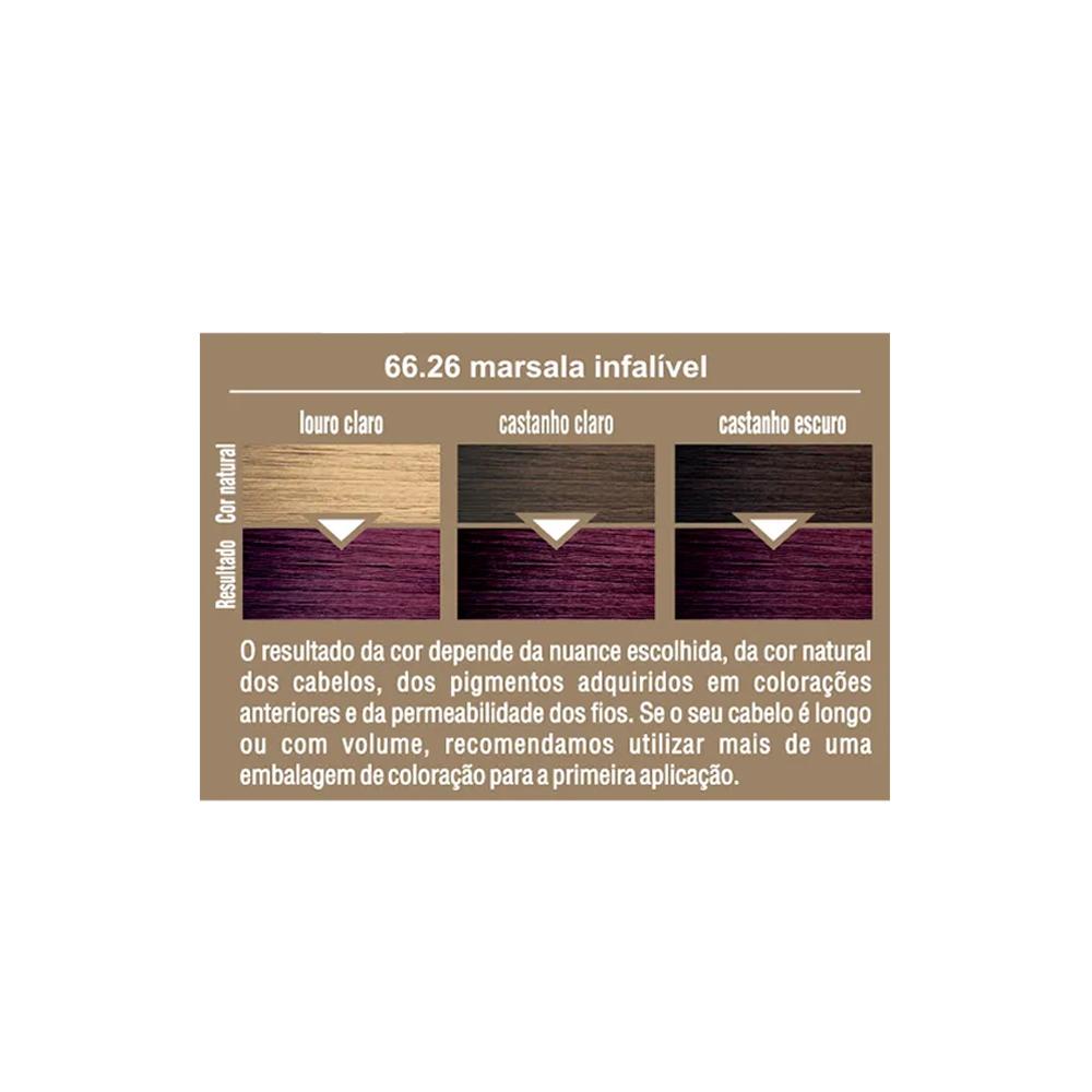 Beauty Color Kit Coloracao 66.26 - Marsala Infalível