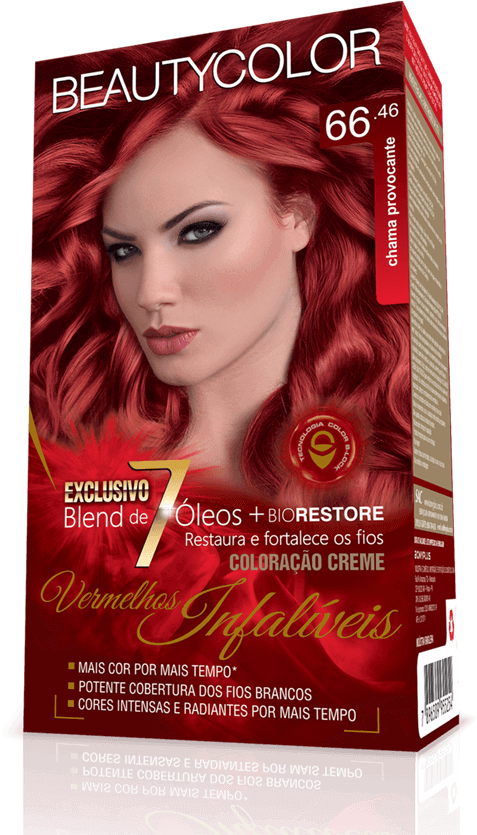 Beauty Color Kit Coloração 66.46 - Chama Provocante