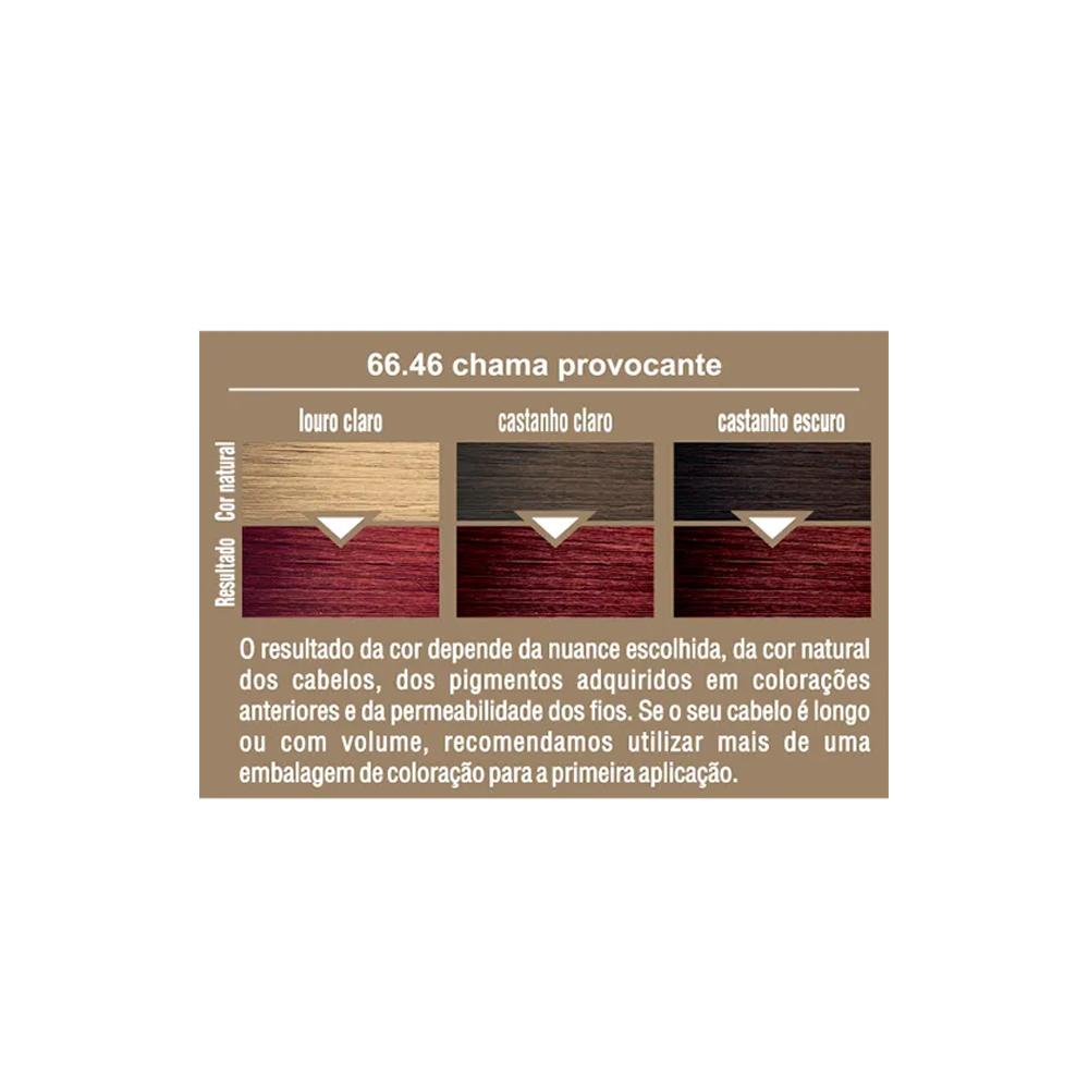 Beauty Color Kit Coloração 66.46 - Chama Provocante