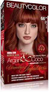 Beauty Color Kit Coloracao 66.74 - Ruivo Doce de Leite