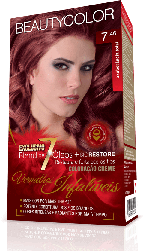 Beauty Color Kit Coloracao 7.46 - Exuberância Total
