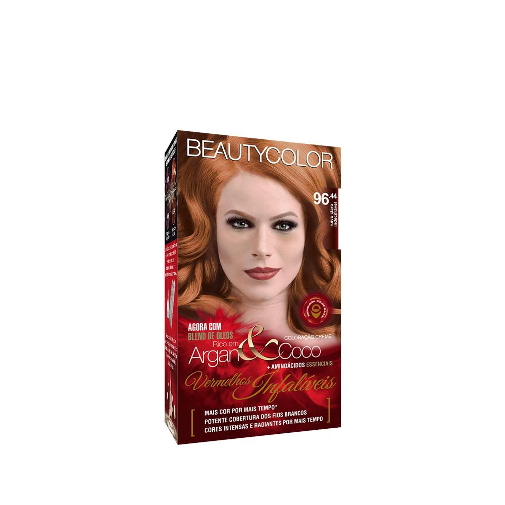 Beauty Color Kit Coloração 96.44 - Ruivo Claro Indecifrável