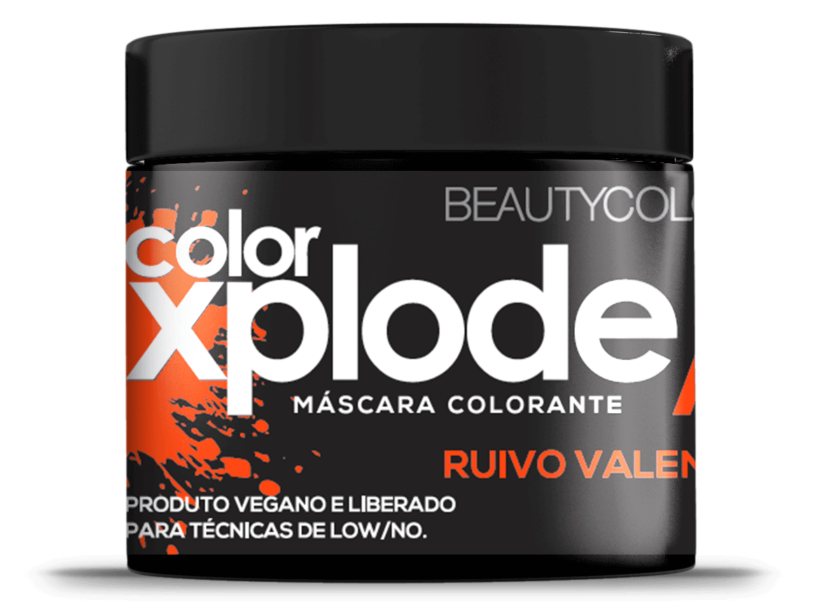 Beauty Color Máscara Ruivo Valente Color Xplode 300g