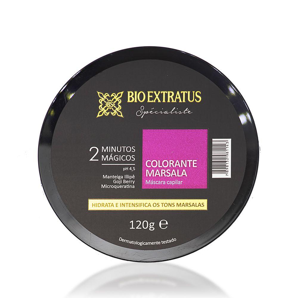 Bio Extratus Máscara Specialiste Colorante Marsala 120g