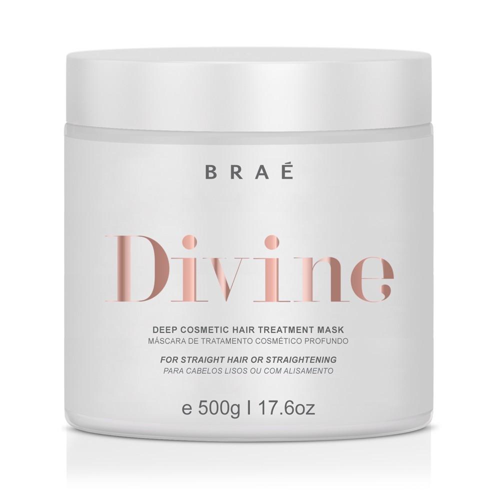 Braé Divine Máscara p/ Cabelos Lisos ou com Alisamento 500 g