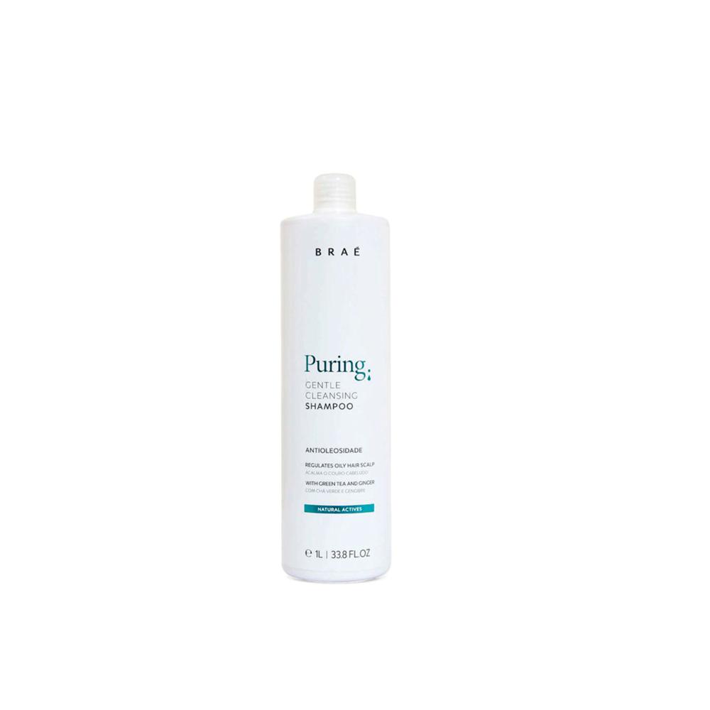 Braé  - Shampoo Antioleosidade - Puring 1000 ml