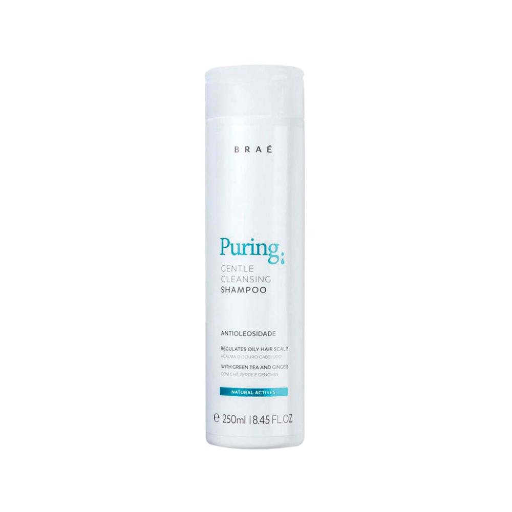 Braé  - Shampoo Antioleosidade - Puring 250 ml