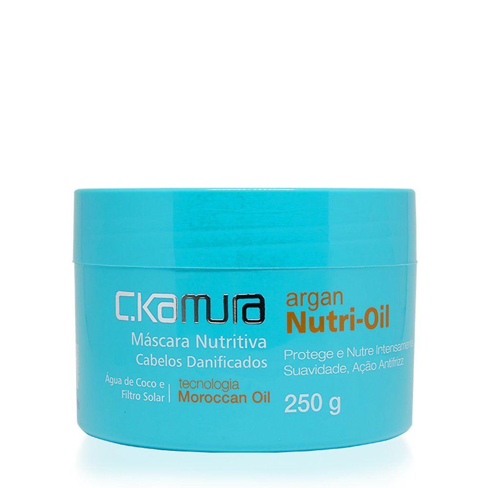 C.Kamura Mascara Argan Nutri Oil - 250g