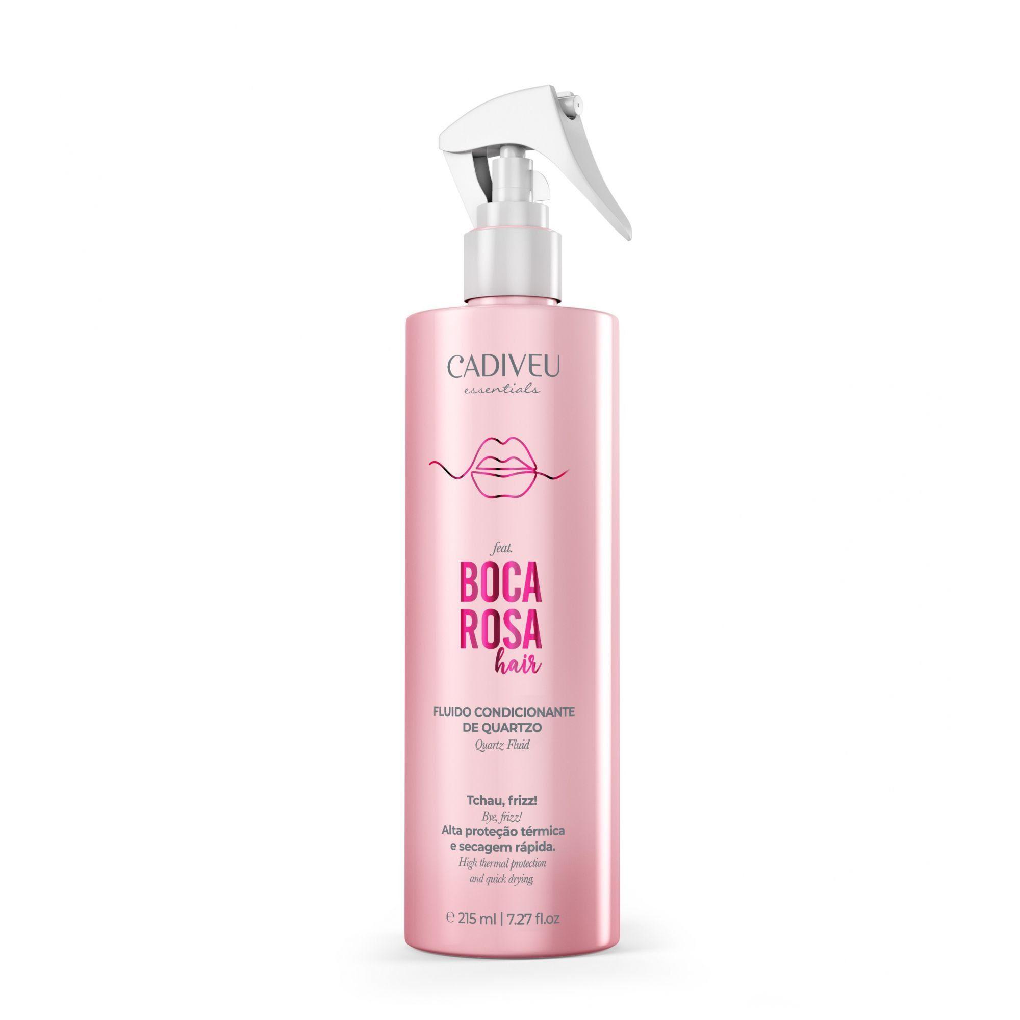 Cadiveu Boca Rosa Hair Fluído Condicionante de Quartzo - 215ml