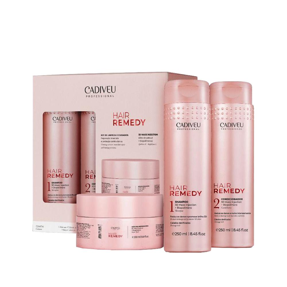 Cadiveu - Kit Home Care -  Hair Remedy