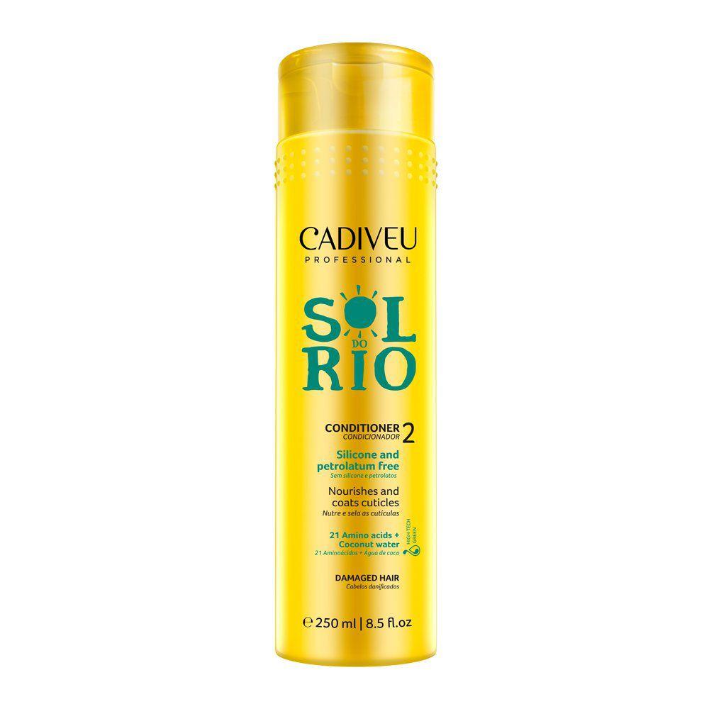 Cadiveu Professional Condicionador Sol do Rio - Sem Sulfato e Silicone -250ml