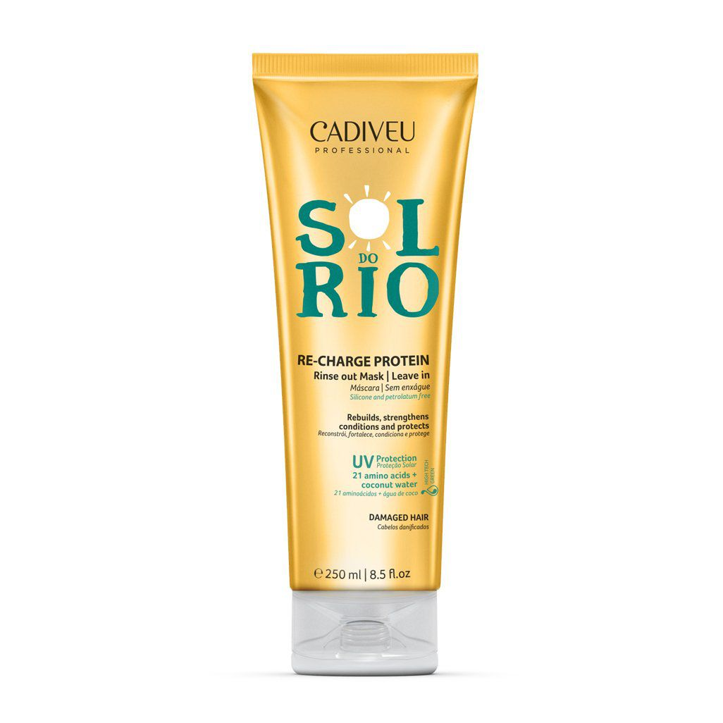 Cadiveu Professional Leave-in Sol do Rio Máscara Reconstrutora - 250ml
