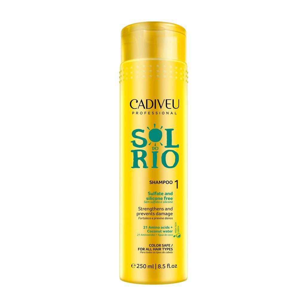 Cadiveu Professional Shampoo Sol do Rio - Sem Sulfato e Silicone - 250ml