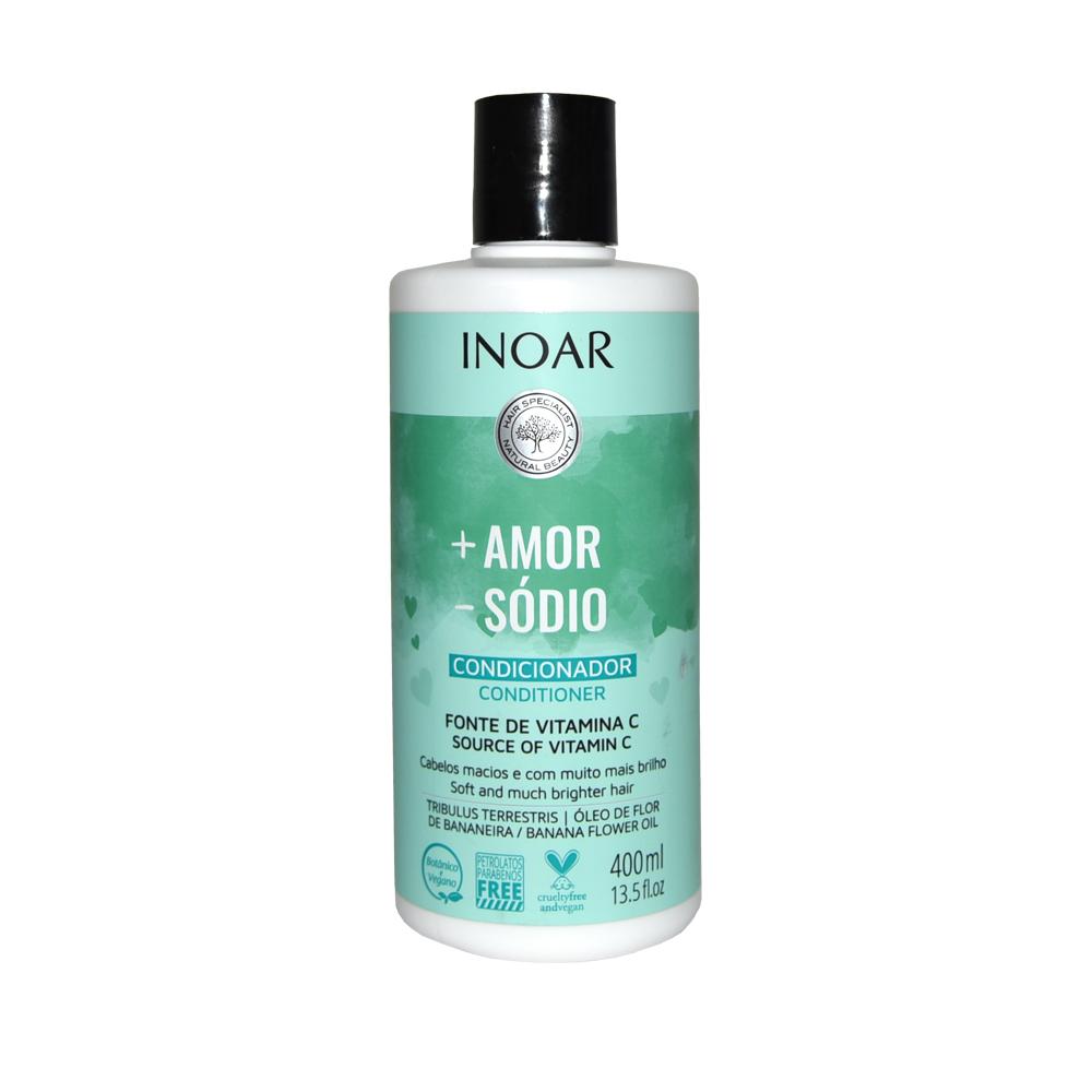 Condicionador Inoar + Amor - Sódio 400ml