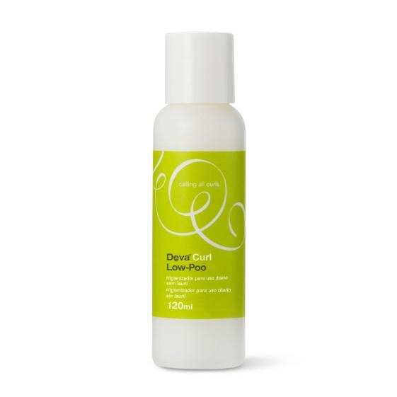 Deva Curl Shampoo Low Poo Higienizador com Pouca Espuma - 120ml