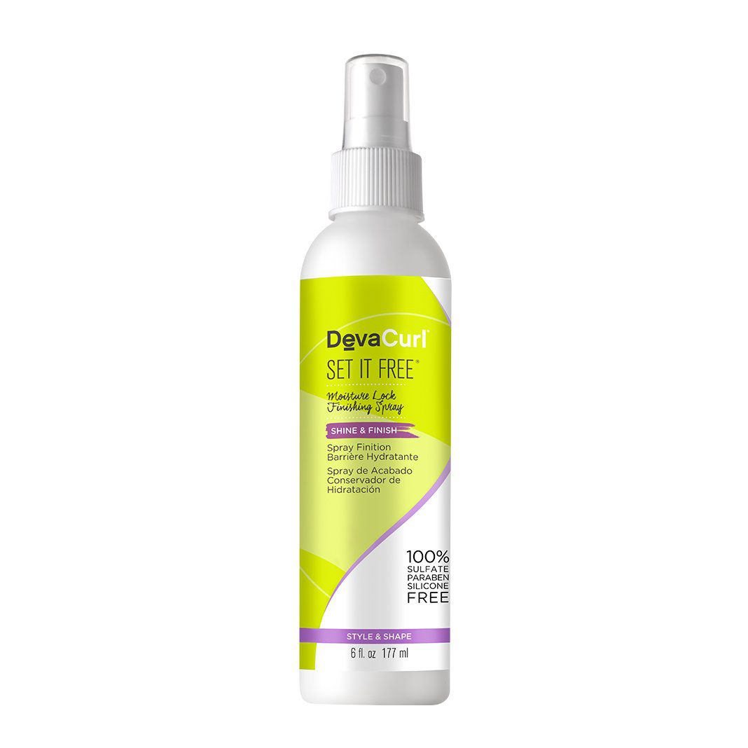 Deva Curl Set It Free Spray Reparador de Frizz 120ml