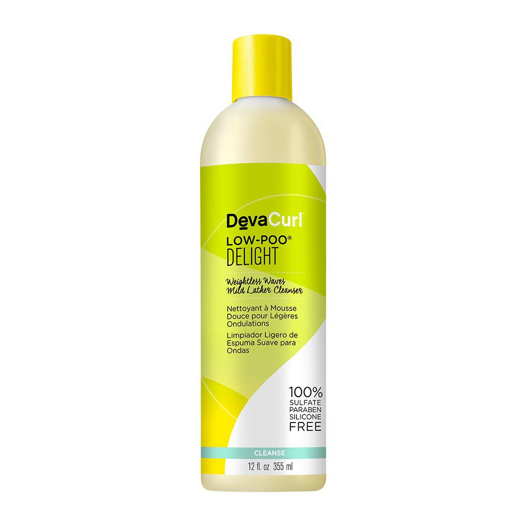 Deva Curl Shampoo Low-Poo Delight Higienizador 355 ml