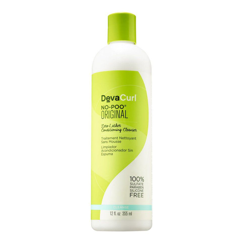 Deva Curl Shampoo No-Poo Original com Pouca Espuma 355ml
