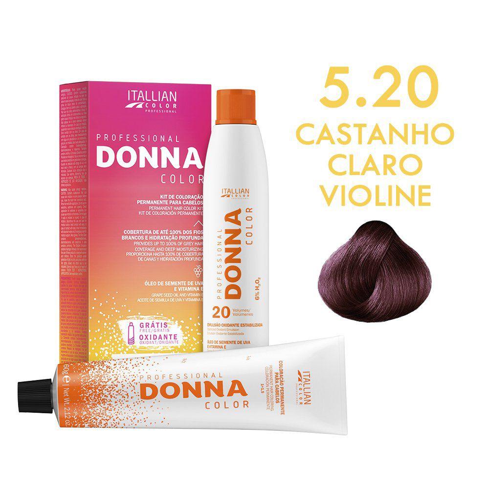 Donna Color Kit Coloração 5.0 Castanho Claro