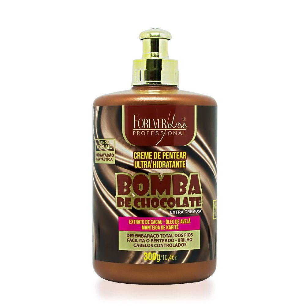Forever Liss Creme para Pentear Bomba de Chocolate - 300gr