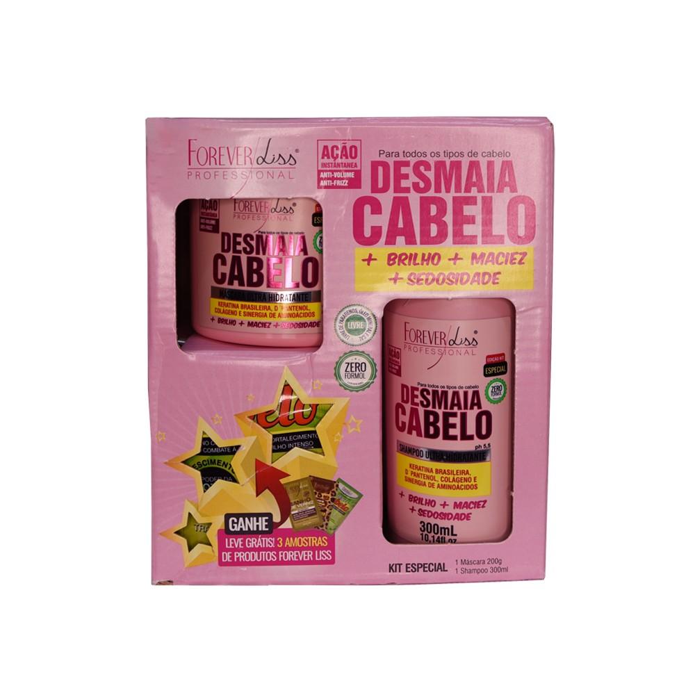 Forever Liss Kit Desmaia Cabelo - Shampoo e Máscara