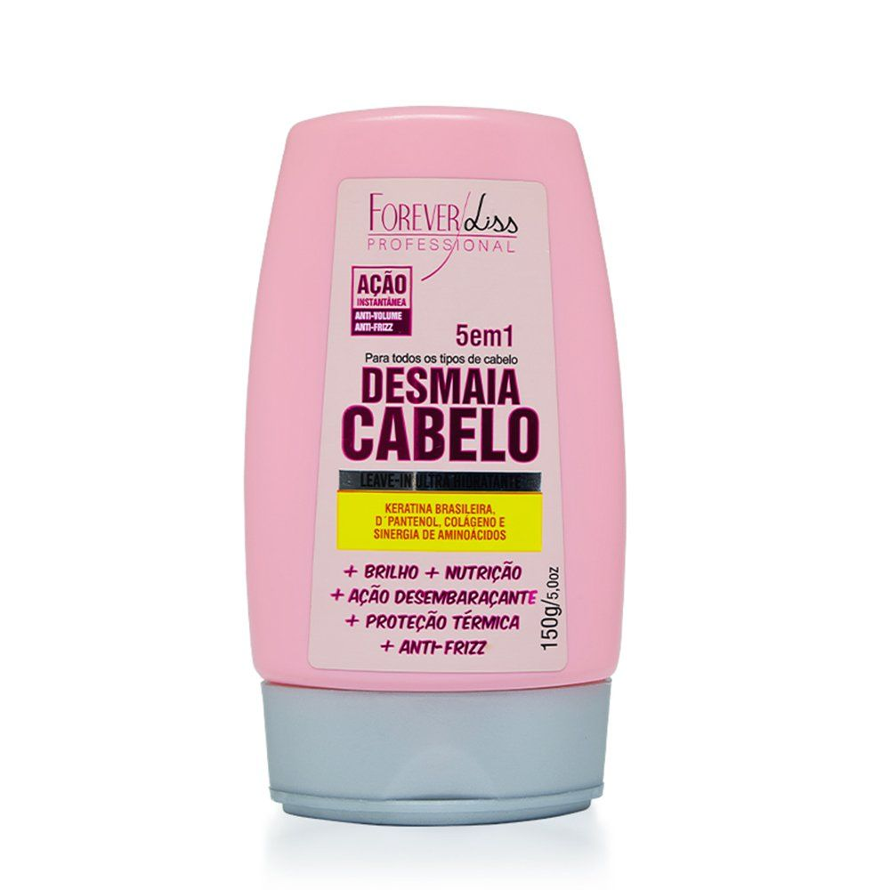 Forever Liss Leave-In Desmaia Cabelo - 150g