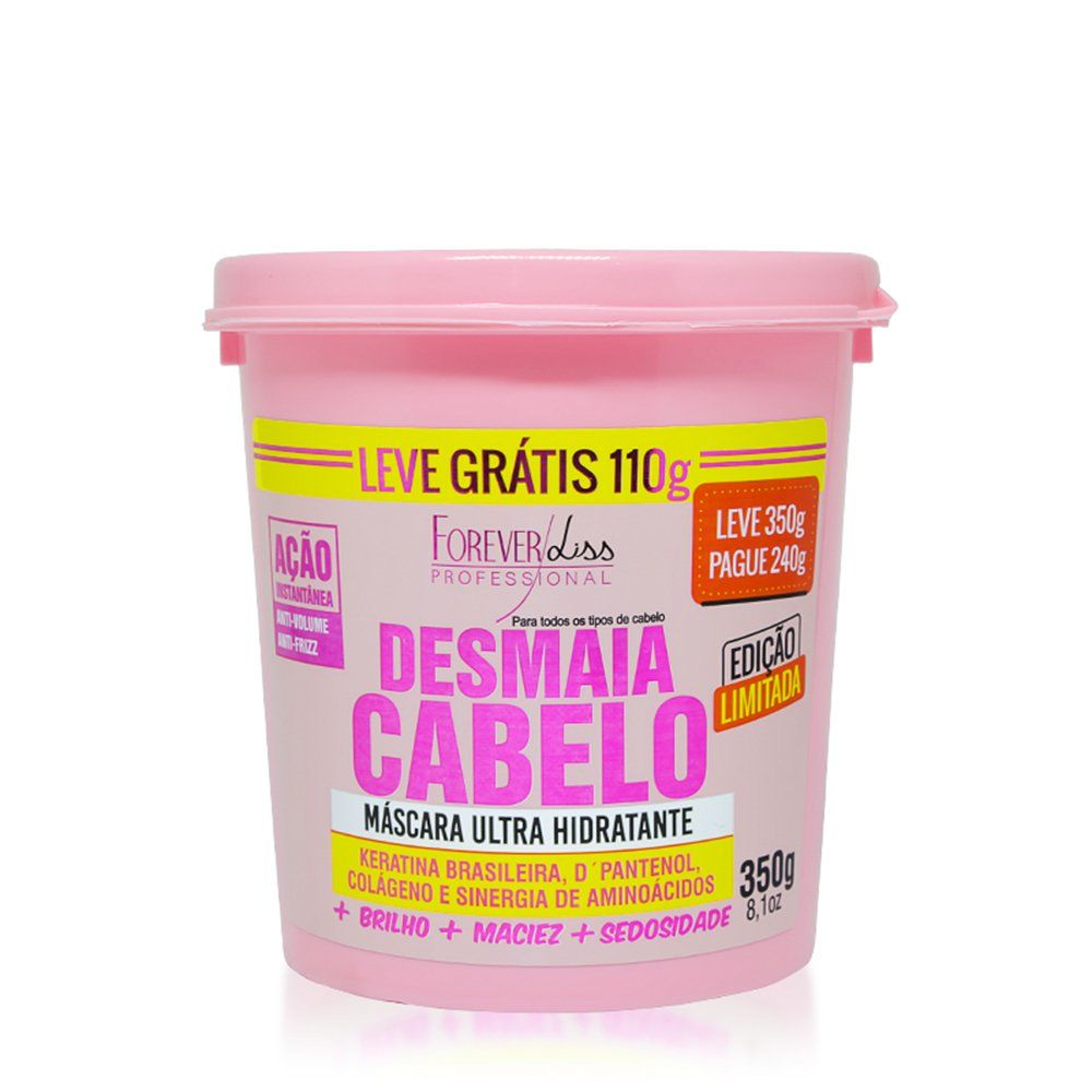 Forever Liss Mascara Desmaia Cabelo - 350g