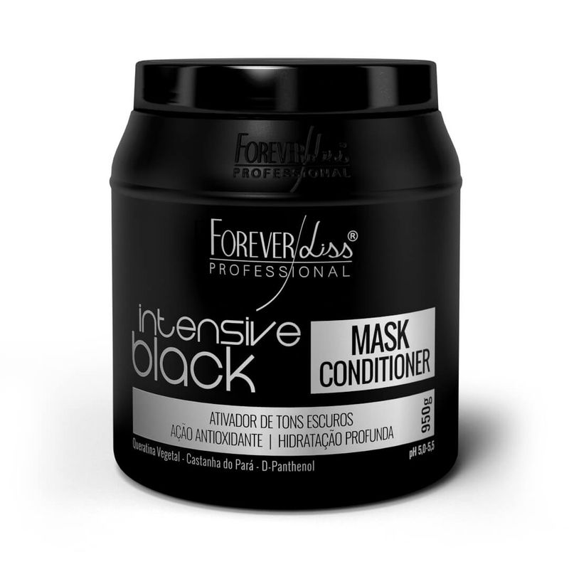 Forever Liss Máscara Intensive Black - 950g