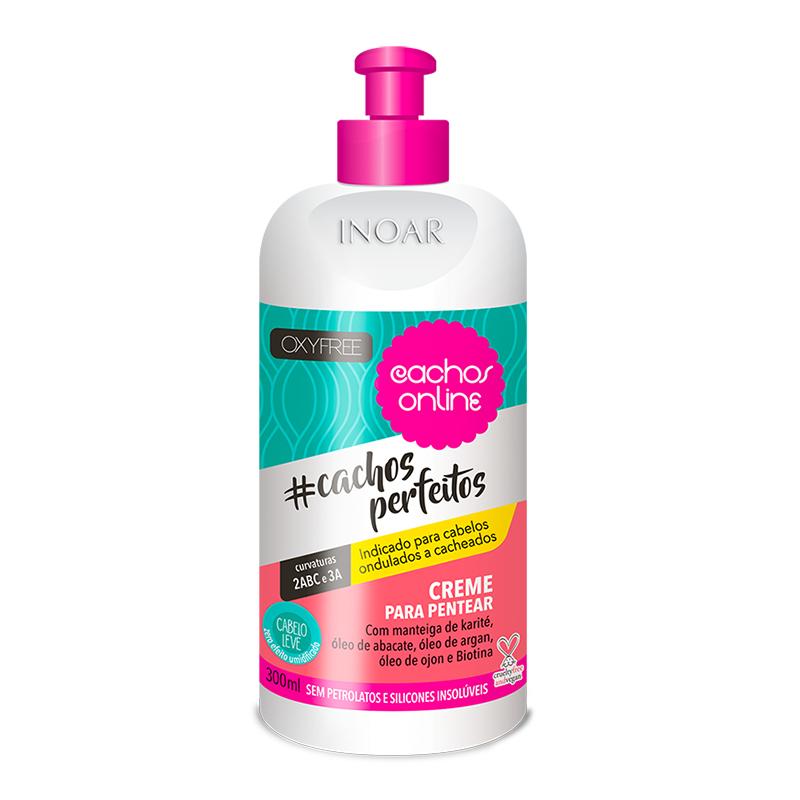 Inoar Creme Para Pentear Cachos Perfeitos - 300ml