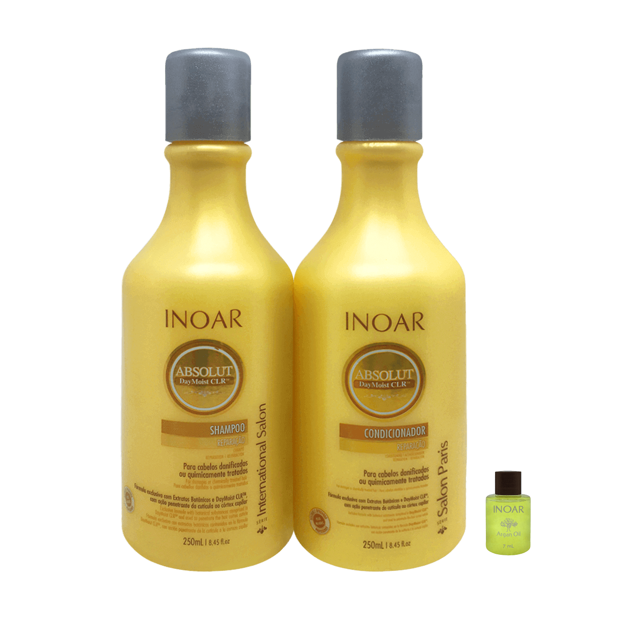 Inoar Kit Duo Daymoist Shampoo  Condicionador (Ampola Grátis)