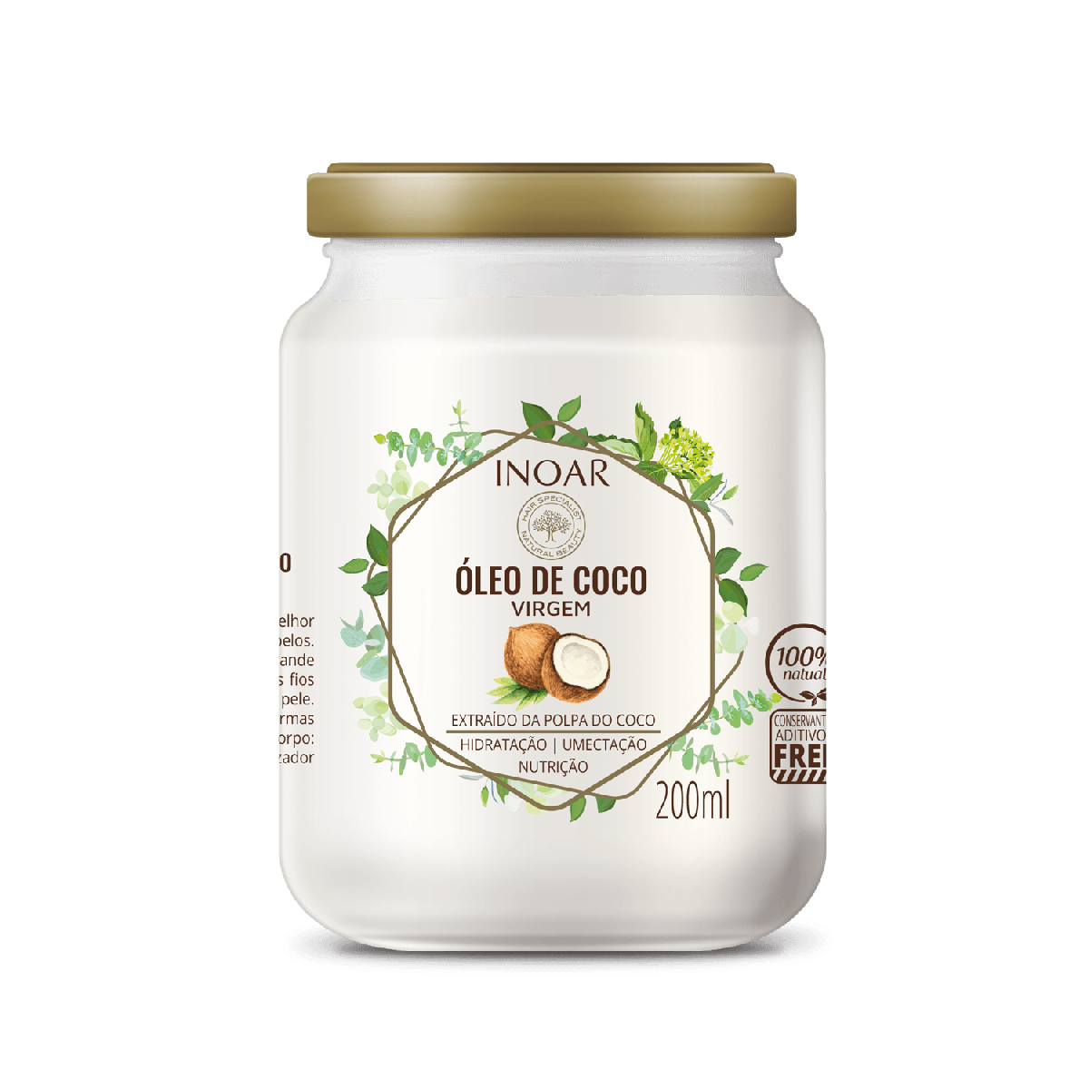 Inoar Óleo De Coco Coconut Oil - 200ml