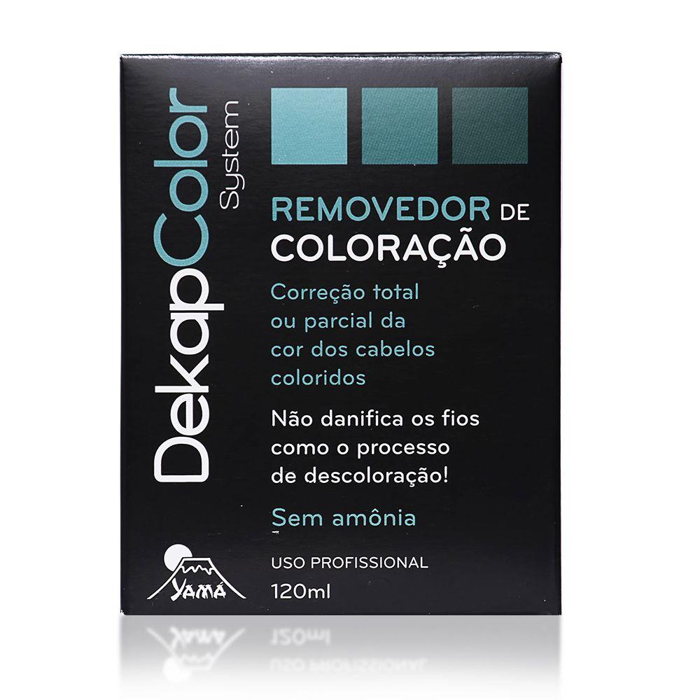 Yamá Removedor de Coloração Monodose DekapColor - 120ml