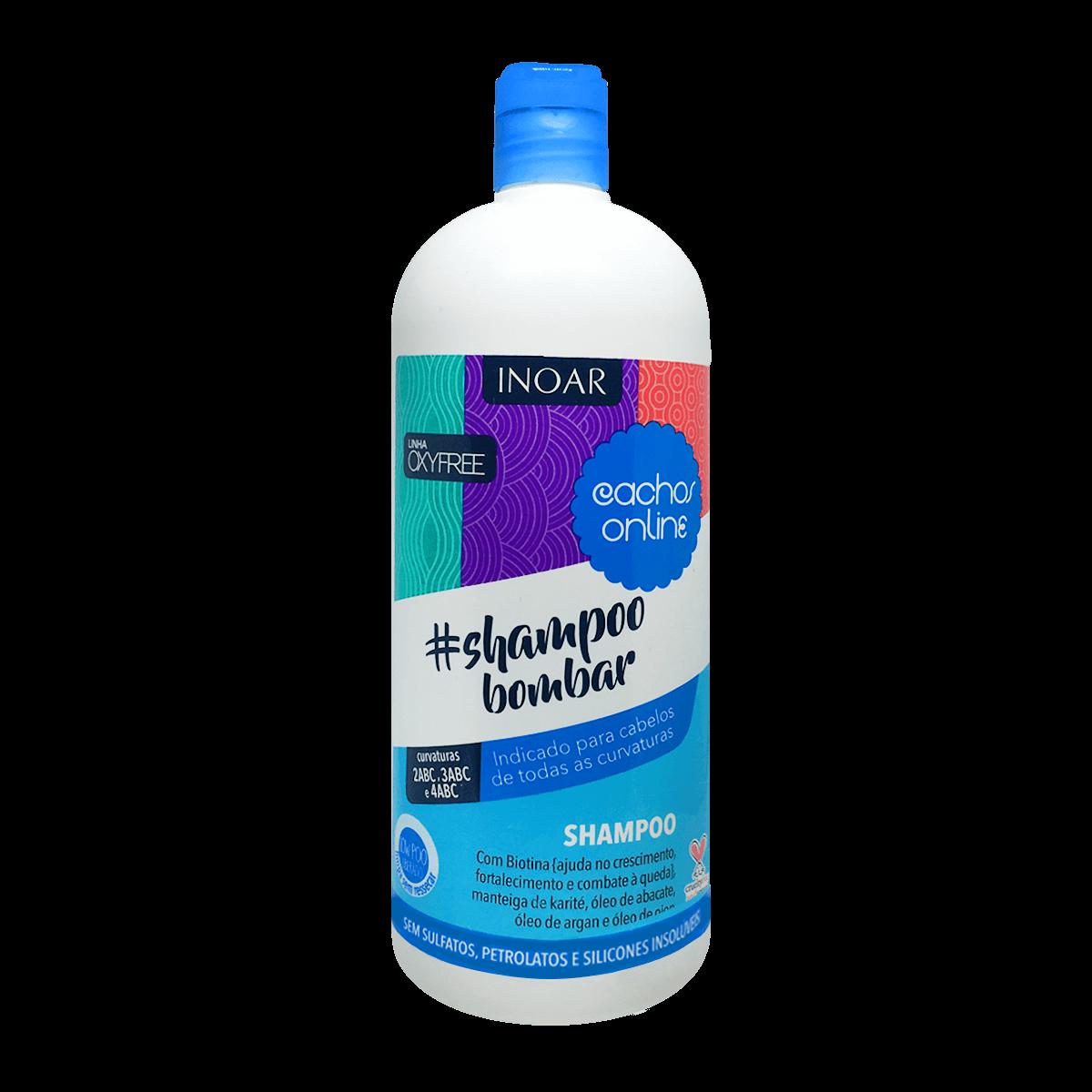 Inoar Shampoo Bombar Cachos Online 1L