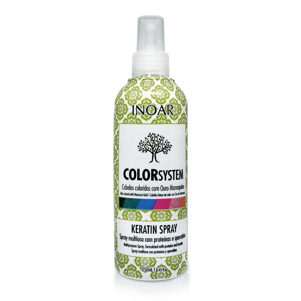 Inoar Spray de Keratina Color System - 250ml