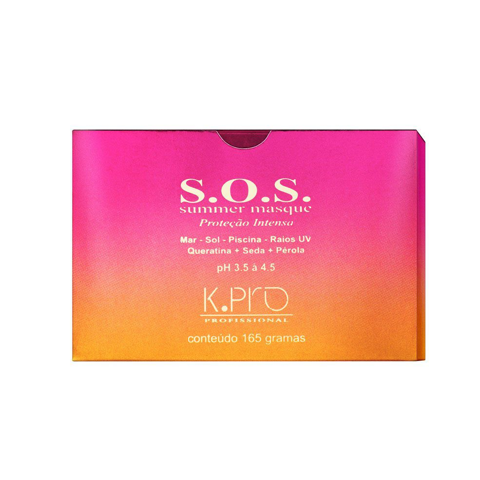K.Pro S.O.S Máscara 165g