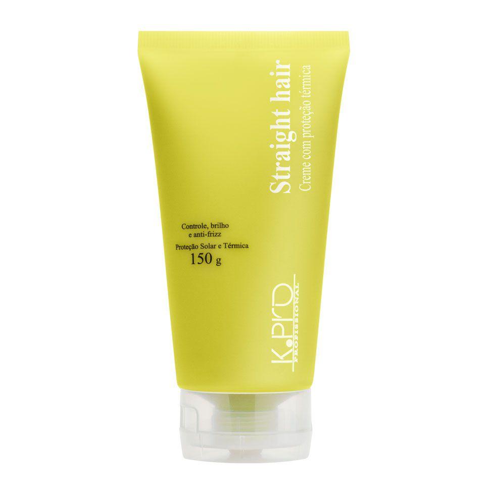 K.Pro Straight Hair Creme com Proteção Térmica - 150g