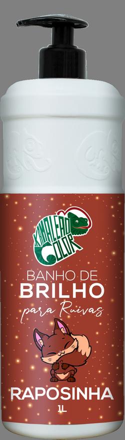 Kamaleão Banho de Brilho Cor Raposinha - 1000ml