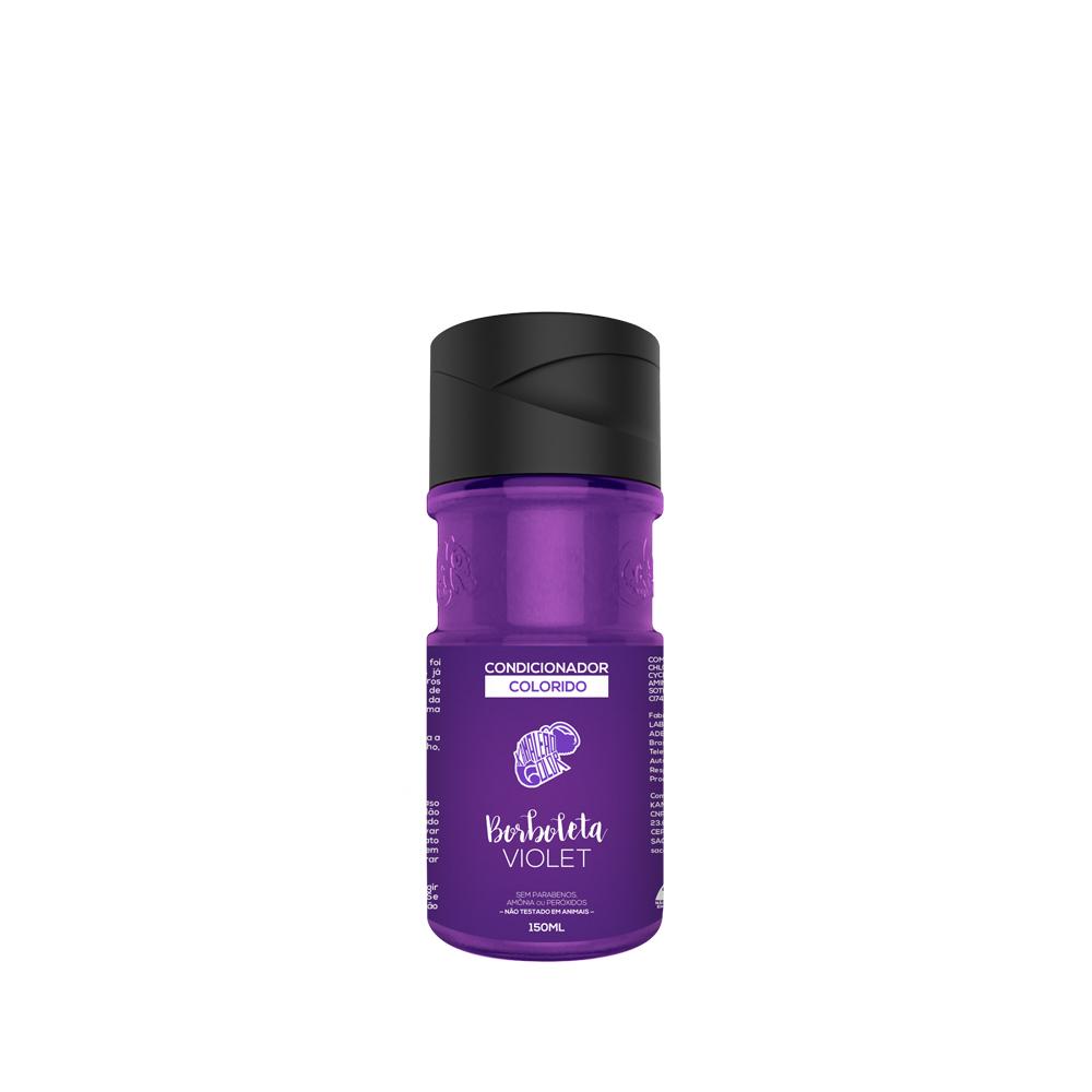 Kamaleão Color Condicionador Colorido Borboleta - Violet - 150ml