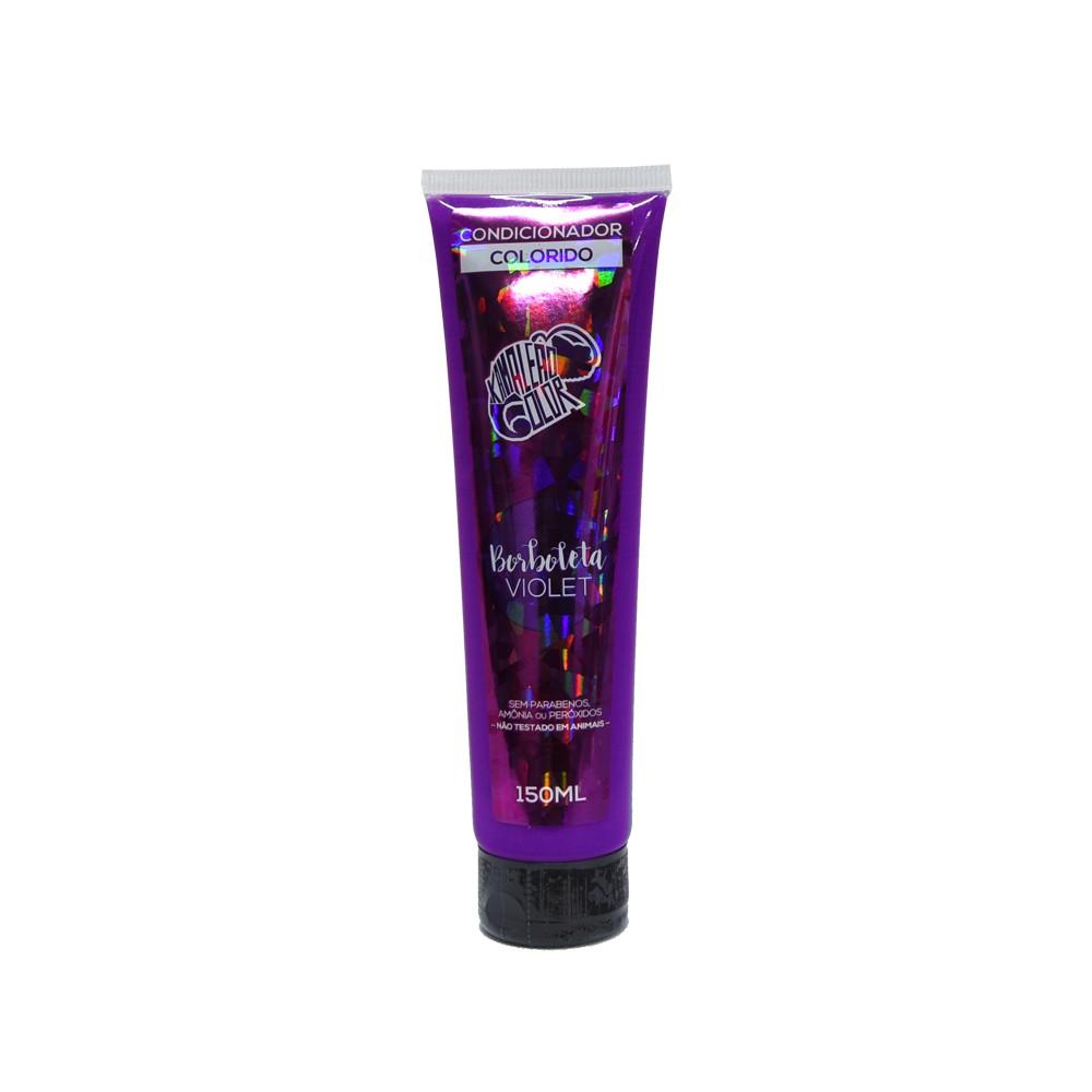 Kamaleão Condicionador Colorido Borboleta - Violet - 150ml
