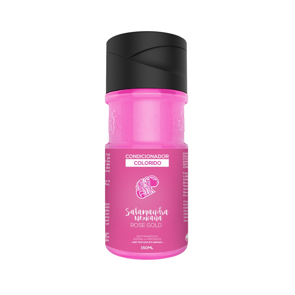 Kamaleão Condicionador Colorido Salamandra Mexicana - Rose Gold - 150ml