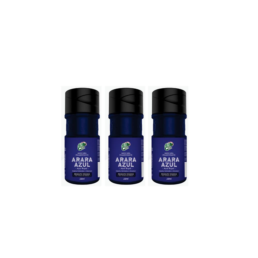 Kamaleão Kit 3 Arara Azul - 150ml