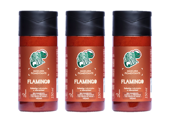 Kamaleão Kit 3 Flamingo - 150ml