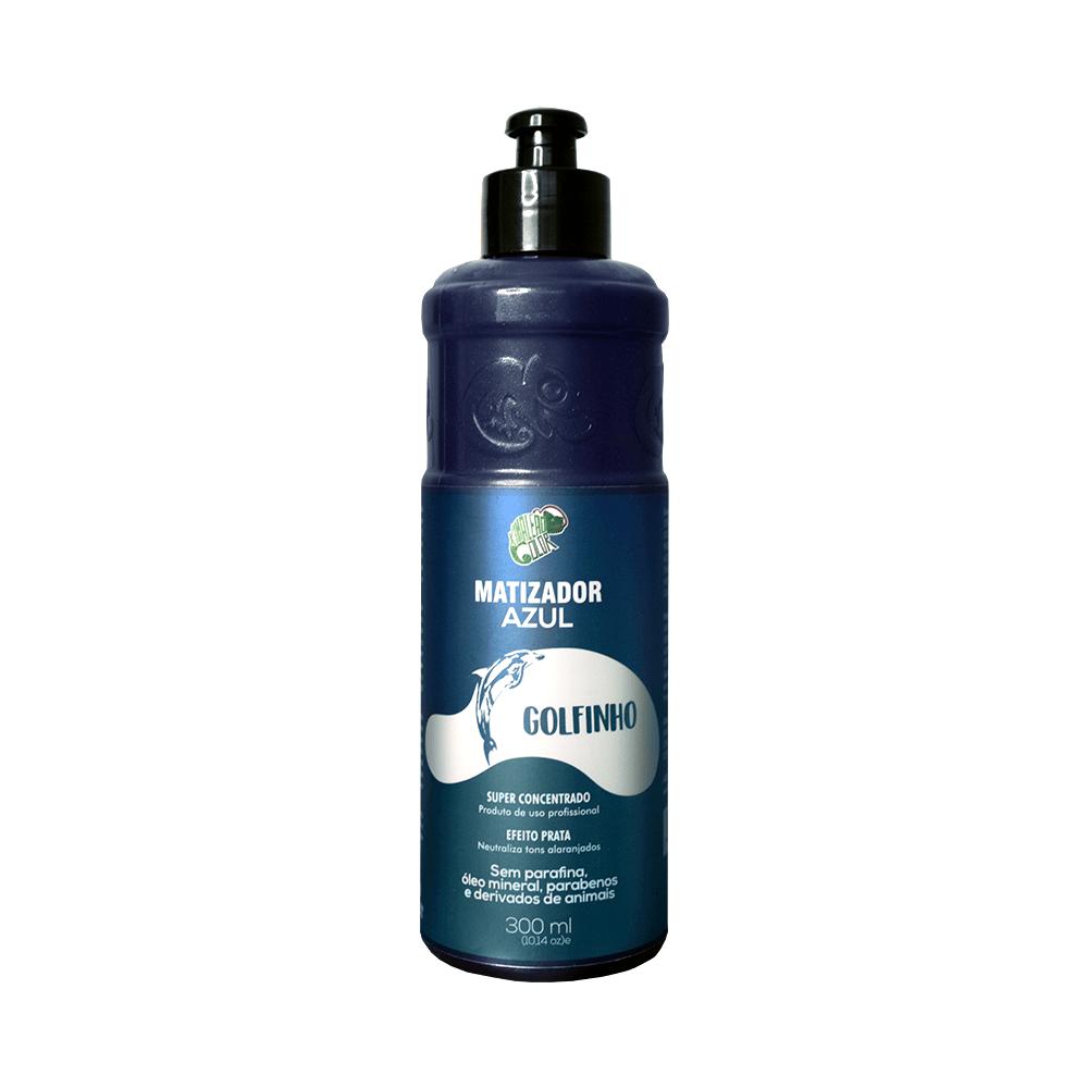 Kamaleão Matizador Azul Efeito Prata - Golfinho 300ml