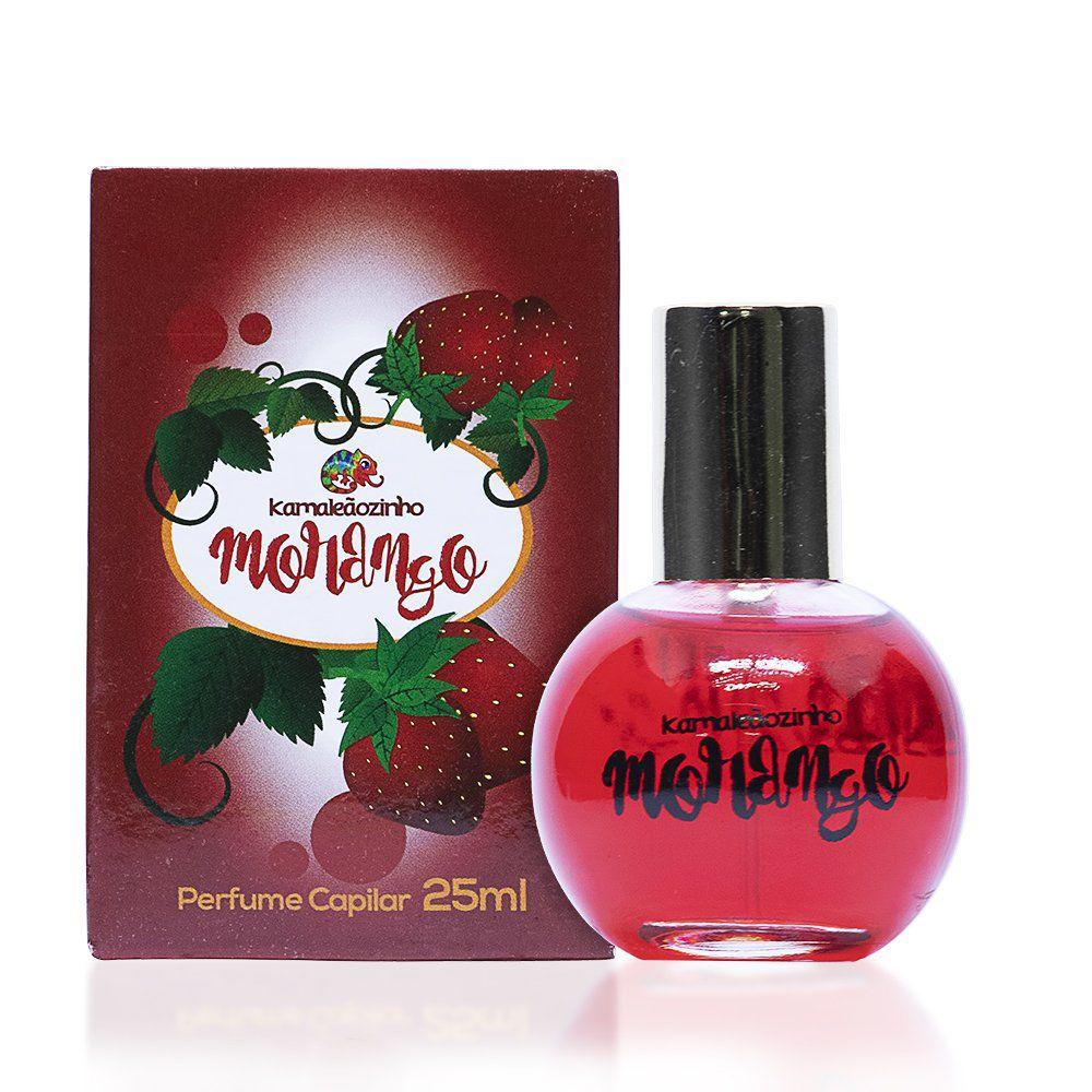 Kamaleão Perfume Capilar Kamaleãozinho Morango 25ml