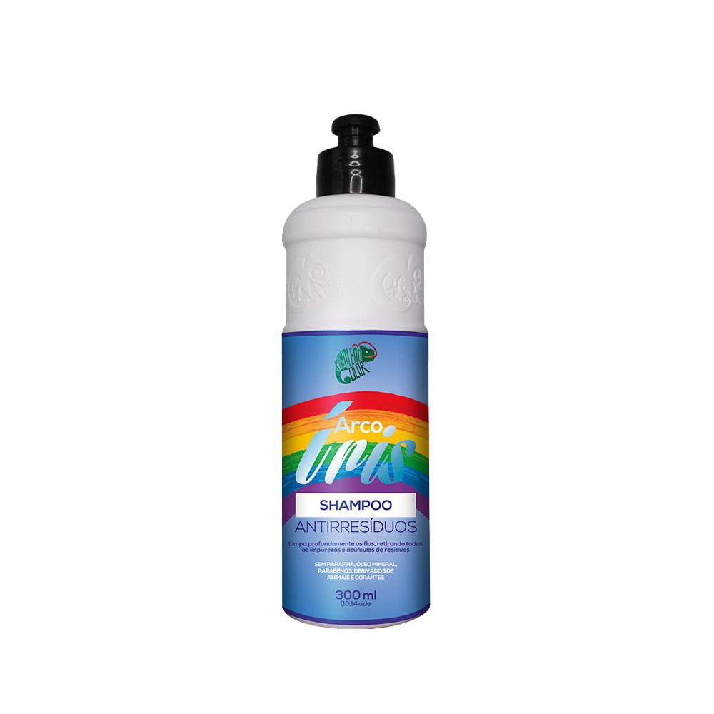 Kamaleão Color Shampoo Antirresíduos Arco Íris - 300ml