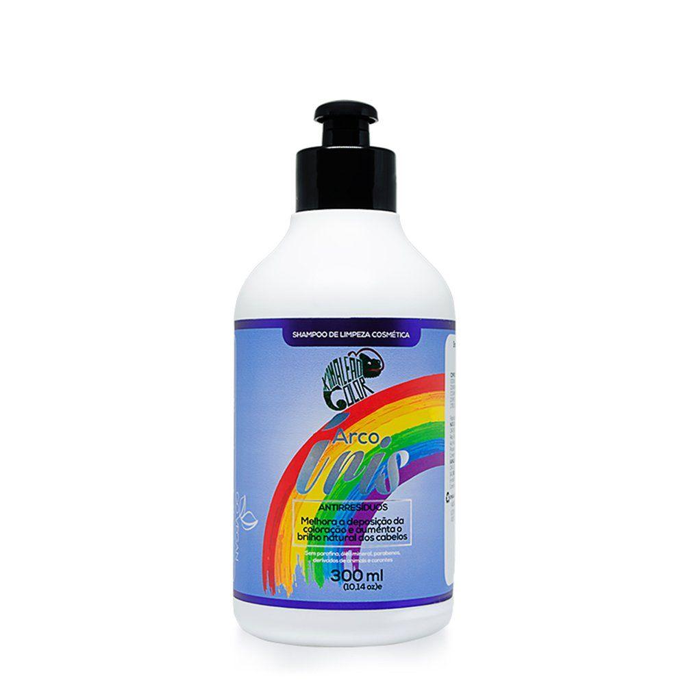 Kamaleão Shampoo de Limpeza Arco Íris - 300ml